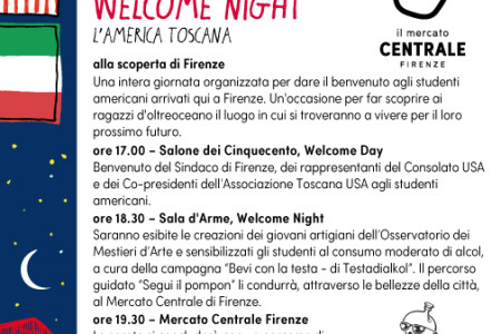 WELCOME DAY giornata di festa per studenti...